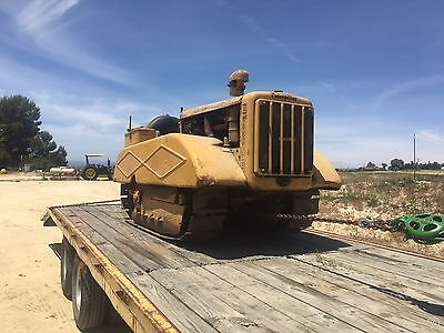 Caterpillar D2 Dozer Orchard Edition With Hydraulics. Rare Find Bulldozer Dozer