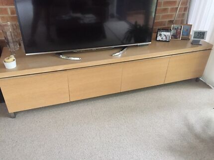 TV cabinet with stereo equipment! Top quality