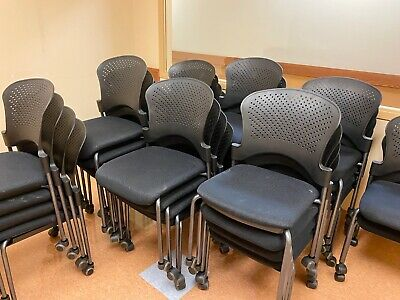 Stackable Guestside Chair W Casters