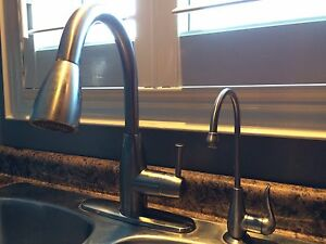 Kitchen Sink and Faucet(s) Kitchener / Waterloo Kitchener Area image 2