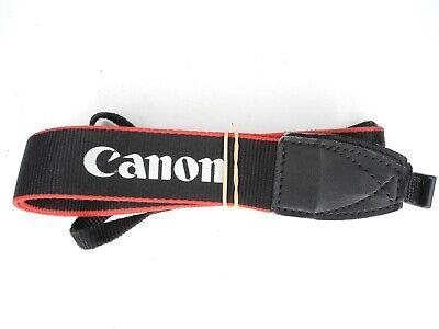 #2 Canon EW-300D Black / Red EOS Camera Neck Strap