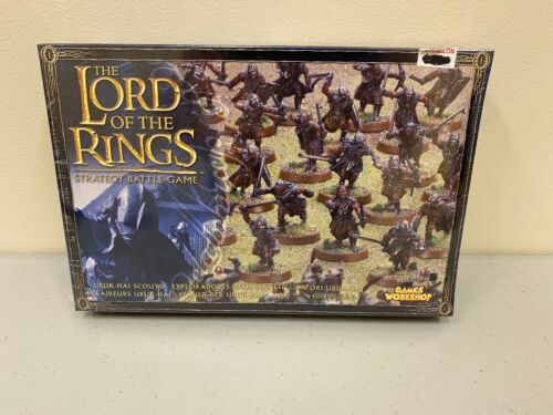 Uruk-Hai Scouts Lord of the Rings Strategy Battle Game Games Workshop BRAND NEW!