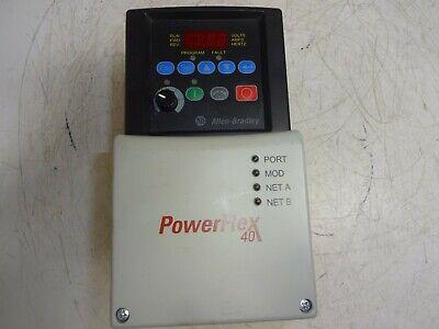 Allen Bradley 22b-d2p3n104 Powerflex 40 Ac Drive 480v