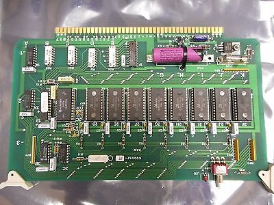 Svg Thermco 600052-01 Ram Pcb Assly For Vtr7000 Vertical Furnace