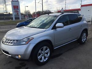 2007 silver Nissan Murano AWD Sold