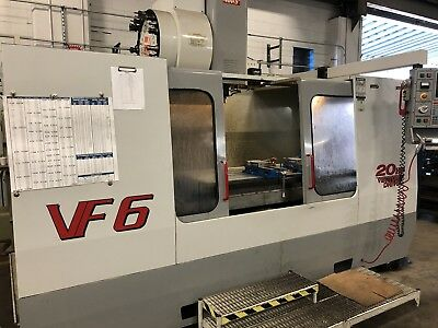 Haas Vf-6 - Cnc Mill - Vertical Machining Center - Vf-4 Vf-5 Vf-7