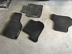 2008 - 2013 VW Golf Rubber mats OEM