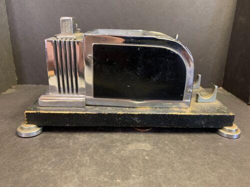 Vintage Art Deco Ronson Table Lighter & Cigarette Dispenser