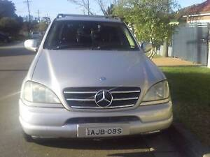 1999 Mercedes-Benz ML Wagon Merrylands Parramatta Area Preview