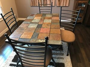 Very unique dining table