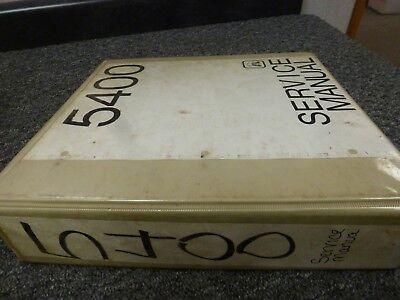 Gci Model 5400 Self Erecting Hydraulic Tower Crane Shop Service Repair Manual