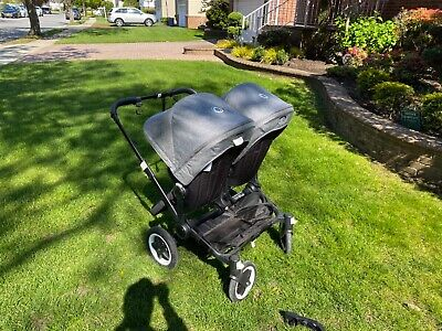 Bugaboo Donkey 2 Twin seat and bassinet stroller and car seat adapter!