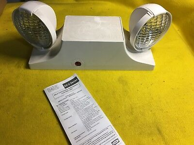 Hubbell Dual-lite Ez-2 Series Self-contained Emergency Lighting Unit