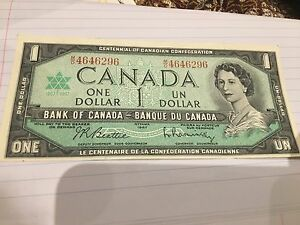 Canadian 1$ old money