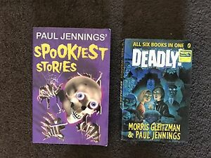 2 x Paul Jennings novels Stirling Stirling Area Preview