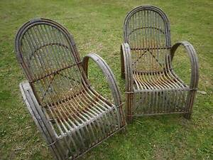 2 cane armchairs Kurrajong Hawkesbury Area Preview