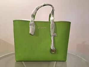 BRAND NEW - Michael Kors Jet Set Travel Bag Lime Green