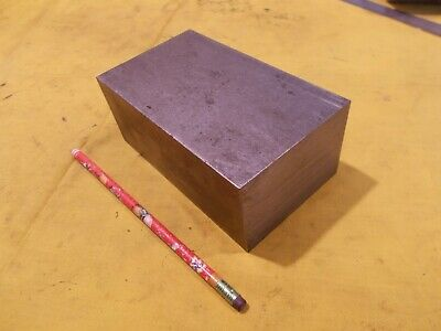 1018 Cr Steel Flat Bar Stock Tool Die Rectangle Plate 2 12 X 3 12 X 6 Oal