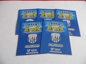 MATCH-ATTAX-2008-09-FOOTBALL-CARDS-VARIOUS-TEAMS