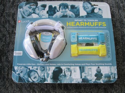 Lucid Brand-Infant To Toddler Hearmuffs: Muffles sounds and/ plays comfort music