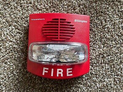 Simplex 4906-9127 Truealert Fire Alarm Smartsync Hornstrobe