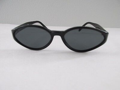 Vintage Womens Small Black Cat Eye Sunglasses