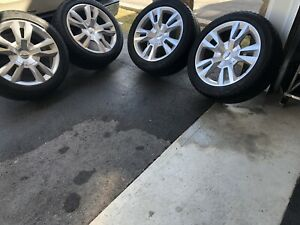"22"" gm 6 bolt wheels/tires/sensors"