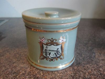 Denby - Manor Green - Sugar / Preserve Pot / Lidded Pot - Souvenir Piece