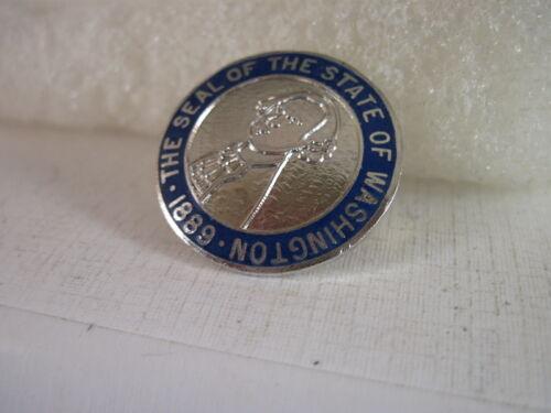 Washington    State Seal cloisonne  logo  lapel pin
