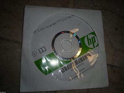 New   Genuine Hp Cp1210 Series Printer Cd Software Driver Utilities Cc376 60102