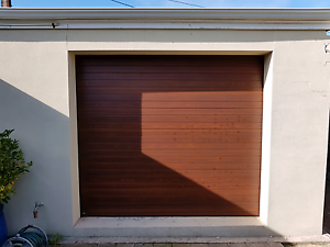 Roller/Panel Lift Door B&D Faux Cedar Finish Glenelg South Holdfast Bay Preview