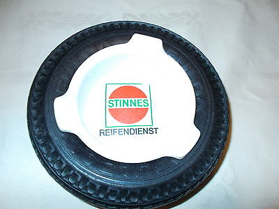 VINTAGE FULDA TIRE ASHTRAY NO CHIPS OR CRACKS TIRE IS SOFT AND MINT!