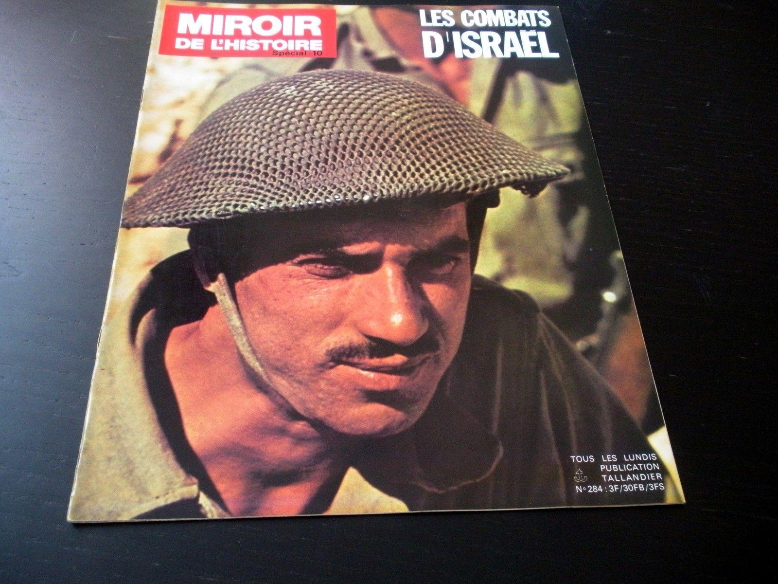 Les combats d 39 isra l lot de 30 magazines miroir de l for Miroir de l histoire