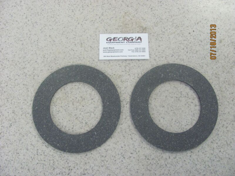 "2-SLIP CLUTCH DISC/ CLUTCH LINING- 6.3""X 3.82""- FITS SEVERAL DIFFERENT SHAFTS"