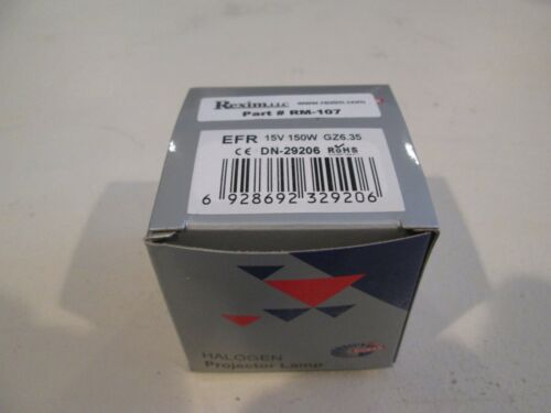 Rexim RM-107 light lamp bulb - NEW!