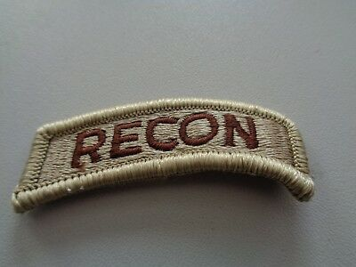 Airborne Tab (US Airborne Tab Aufnäher Patch desert RECON)