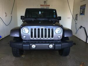 2016 Jeep Sahara two door for sale