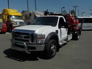 2009 Ford F-550 Regular Cab 4WD Dually Diesel Tanker Truck