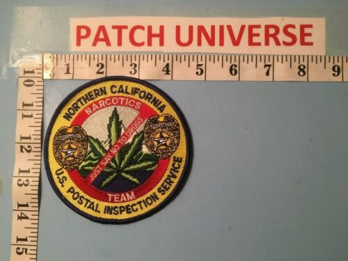 NORTHERN CALIFORNIA NARCOTICS TEAM  PATCH  B045
