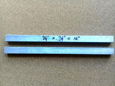 6061 Aluminum Square Bar 34 X 12 Long Solid Stock T6511
