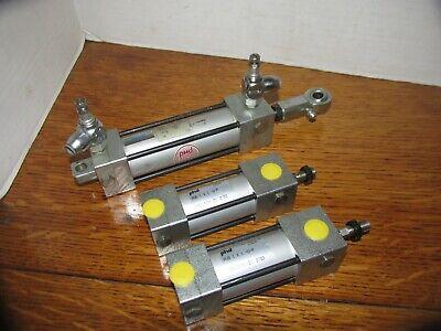 Lot Of 3 Phd Actuators Hydraulic Pneumatic Avb Avp Series Lqqk