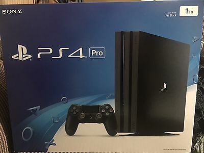 Sony PlayStation 4 Pro 1TB PS4 Pro Video Game Console 4K HDR Brand New