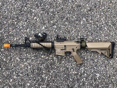 SRC Sport Series M4 CQB Semi Full Auto Metal Gear AEG Airsoft Rifle