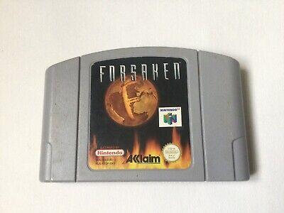 Forsaken Nintendo 64 N64 Cart Only Tested Working UK PAL