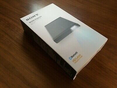Sony MP-CL1A Mobile Laser Projector Light Source Bluetooth HD / Gray - Open Box