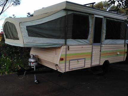 Jayco swan camper trailer