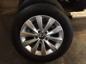 2015 Volkswagen Passat Aluminum Rims & Tires