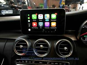 Mercedes Benz Apple Car Play Android Auto Rear Camera