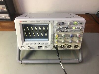Agilent Hp Dso6034a 300 Mhz 4 Channels 2 Gsas Digital Analog Oscilloscope