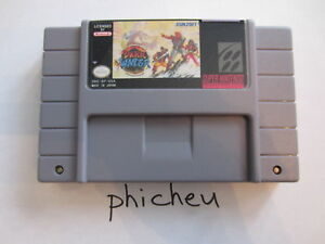 The Pirates of Dark Water SNES Super Nintendo USA NTSC video game cartridge